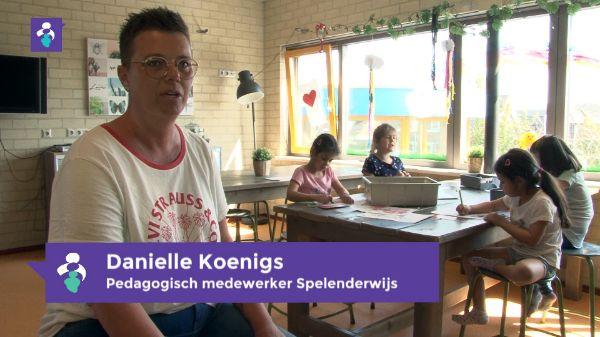Danielle Koenigs pedagogisch medewerker spelenderwijs