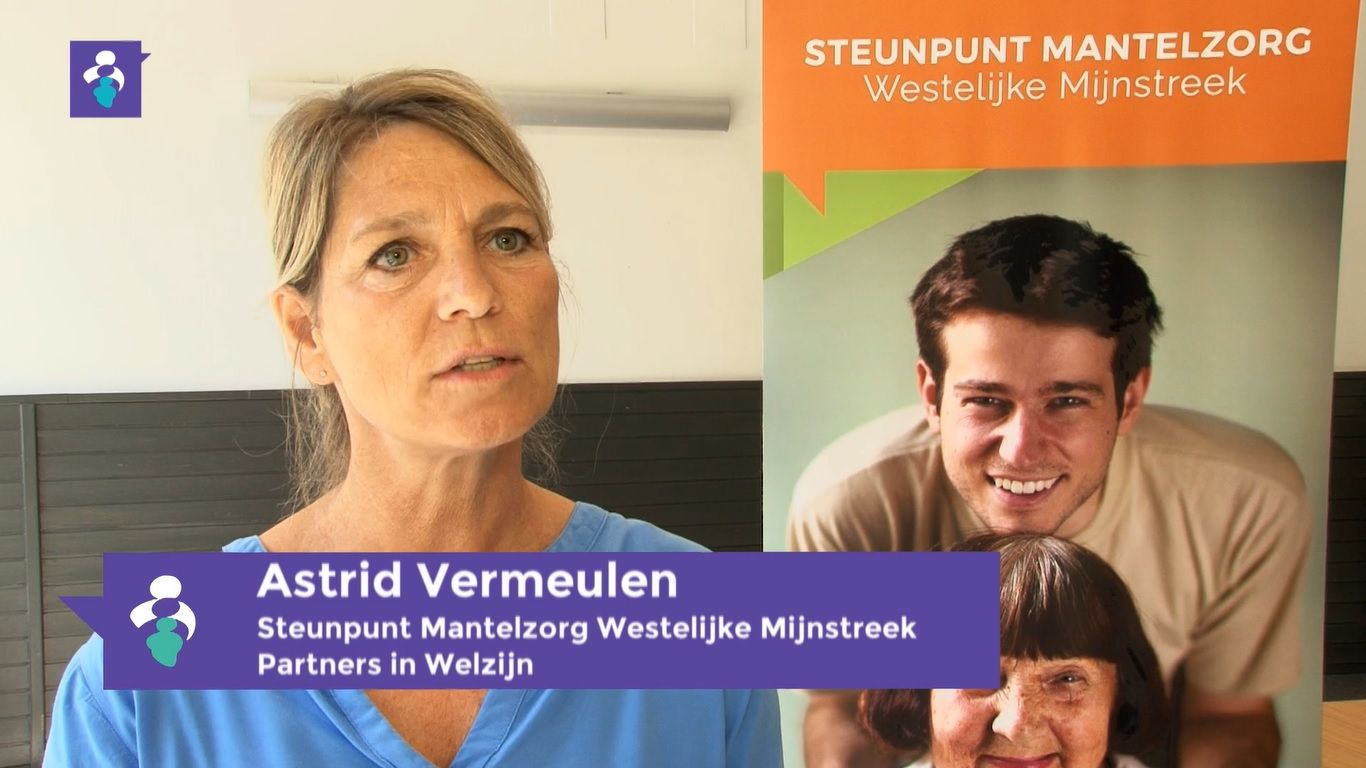 Astrid Vermeulen Jonge Mantelzorgers
