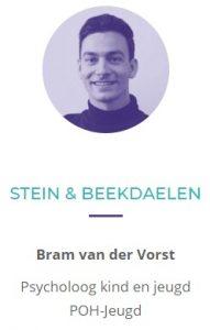 Bram Van der Vorst Psycholoog kind en jeugd POH-jeugd Stein en Beekdaelen