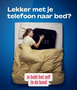 Lekker met je telefoon naar bed?