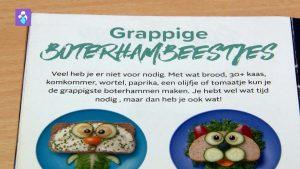 groentehapjes in 10 stapjes broodtrommel boekje